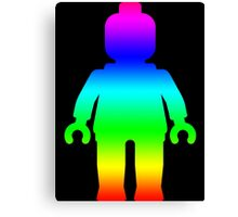 Minifig [Large Rainbow 1]  Canvas Print