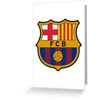 FCBarcelona Greeting Card