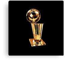 NBA Champion Trophy - SMILE DESIGN Canvas Print