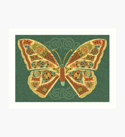 Celtic Butterfly Art Print