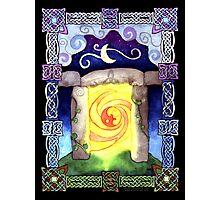 Celtic Doorway Photographic Print
