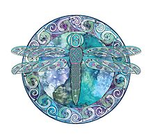Cool Celtic Dragonfly Photographic Print