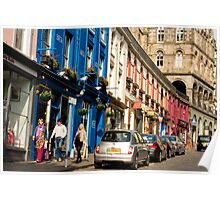 Victoria Street, Edinburgh Poster