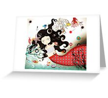 How far are you gonna go? Greeting Card