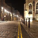 Royal Mile at Night by roll6pics