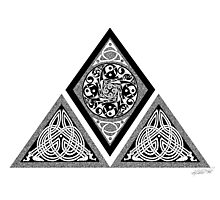 Celtic Pyramid Photographic Print