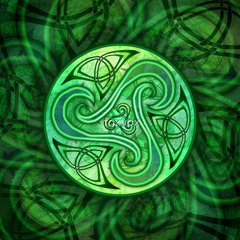 Celtic Triskele by foxvox