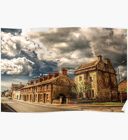 Castle Terrace And Chantry Poster