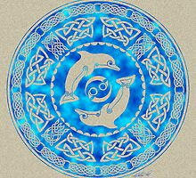 Celtic Dolphins by foxvox