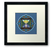 Celtic Hourglass Framed Print