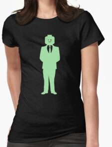 Minifig Business Man  Womens Fitted T-Shirt