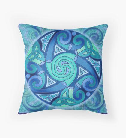 Celtic Planet Throw Pillow