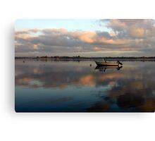 Boat @ Malahide Marina Canvas Print