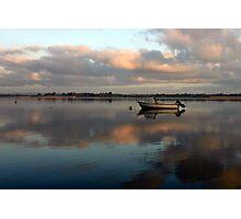 Boat @ Malahide Marina Photographic Print
