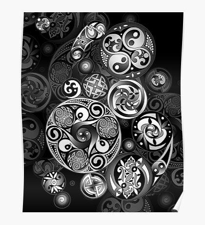 Celtic Clockwork Poster