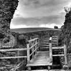 Denbigh Castle -ramparts by Kelvin Hughes