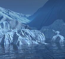 Issues - Global Glacier Meltdown2a by Sazzart