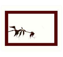 Autumn frame #1 Art Print