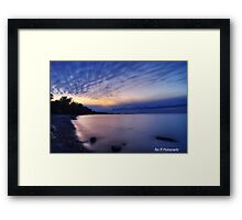 """""""76 seconds"""" Framed Print"""