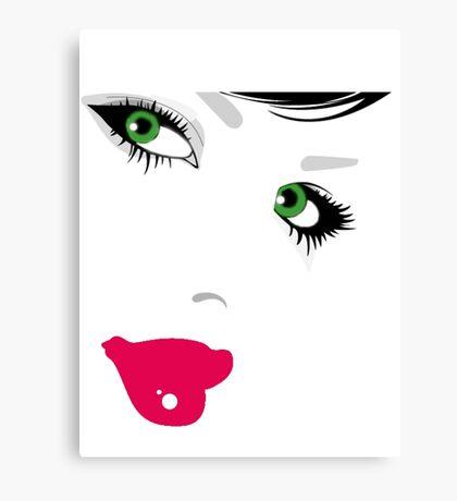 Girl. Canvas Print
