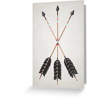 30 - Friendship Arrows - Print Greeting Card