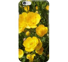 Butter Me Up Buttercups iPhone Case/Skin