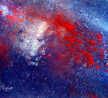 Simply Red!  Stars by Angela  Burman