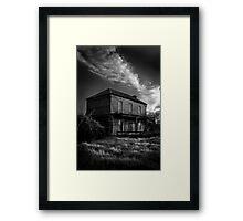 Ghostly Manor Framed Print