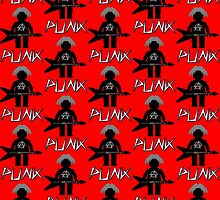 Punk Guitarist Minifig by Customize My Minifig by Customize My Minifig