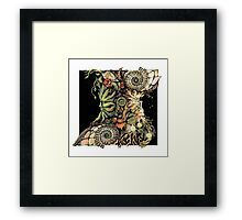 Holly & Oak Framed Print
