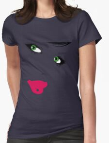Girl. Womens Fitted T-Shirt