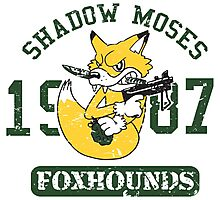 Shadow Moses Fox Hounds Photographic Print