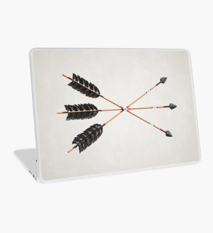 30 - Friendship Arrows - Contained Horizontal Laptop Skin