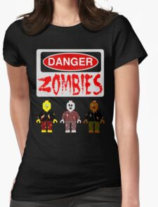 DANGER ZOMBIES Womens Fitted T-Shirt