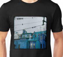little blue houses Unisex T-Shirt