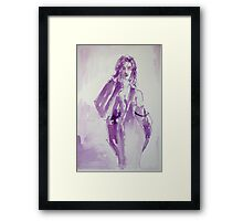 Midnight Framed Print