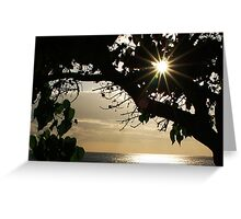Sunset at Ko'Olina Greeting Card