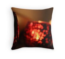 Candle Bright Throw Pillow
