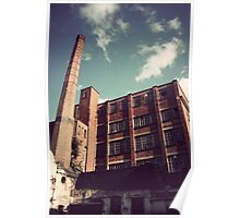 Abandoned Industrial Factory - Leicester Poster