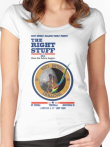 Dave's Birthday Challenge 2015 Women's Fitted Scoop T-Shirt