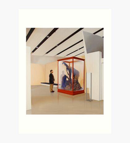 Museum VI (Four Primates) Art Print