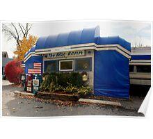 Blue Benn Diner Poster