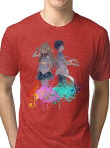 Shigatsu wa kimi no uso Tri-blend T-Shirt