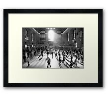 GRAND FREEZE Framed Print