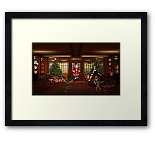 Home After a Long Night Framed Print