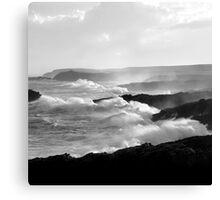 Ness, Isle of Lewis - White Horses Canvas Print