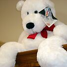 Giant White Bear by debbiedoda