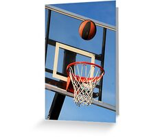 Going for a Basket! Greeting Card