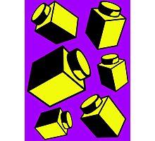 1 x 1 Bricks (AKA Falling Bricks)  Photographic Print