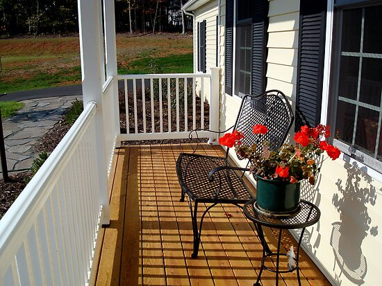 An Inviting Porch - (SMALLTOWN USA series)    ^ by ctheworld
